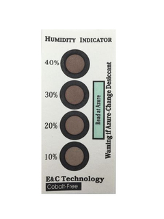Cobalt Free Humidity Indicators Paper