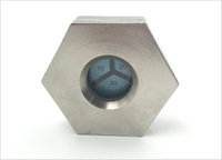 Nickel Brass Humidity Indicator Plug