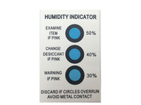 China Humidity Index Card