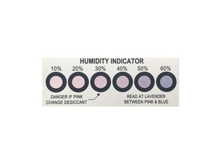 Measuring Humidity Indicator Card