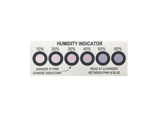 6 Dots 10%-60% Moisture Indicator Card/HIC Cards